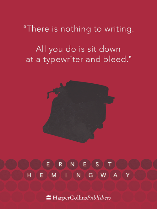 Vanessa Diaz on Hemingway on writing