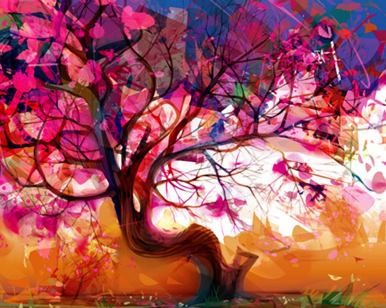 Colorful-Tree-Abstract-1024x1280